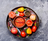 Spicy seasoning, sauce - 223357750