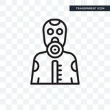 Toxic vector icon isolated on transparent background, Toxic logo design - 223370707
