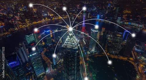 Shanghai City Scenery and Access Network - 223377322