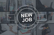 Concept of new job