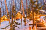 Furano, Japan Winter Cabins - 223384319