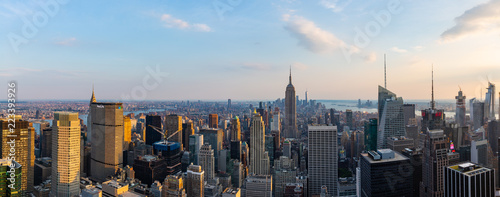 Manhattan - View from Top of the Rock - Rockefeller Center - New York - 223393926