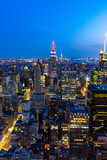 Manhattan - View from Top of the Rock - Rockefeller Center - New York - 223394711