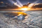 Sea Foam Sunset