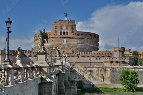 Widok Castel Sant 'Angelo, Rzym