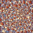 Vector illustration with geometric background.  Illustration 10 version - 223402962