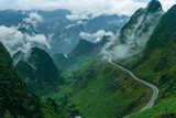 Ma Pi Leng Pass in Ha Giang province, Vietnam