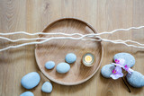 feng shui decor for ayurveda, beauty, mindfulness or zen massage - 223404727