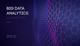 Big Data. Business inteligence technology background. Binary code algorithms deep learning virtual reality analysis. Data science learning machine. Artificial intelligence data research and automation