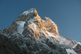 Ushba - the most beautiful mountain top of the Caucasus, Georgia