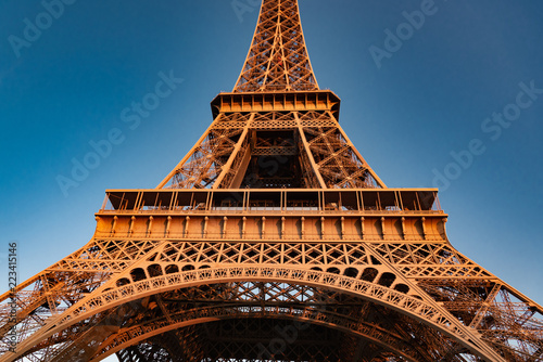 Eiffel Tower view in Paris