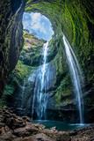 Madakaripura Waterfall is the tallest waterfall in Deep Forest in East Java, Indonesia.