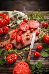 Tomato concept