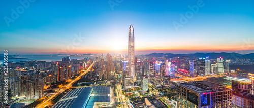 Shenzhen city scenery - 223485586