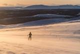sunset in Lapland Finland