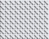 White seamless geometric pattern. Set of crosses with a shadow. White background.