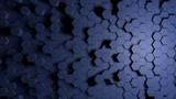 Abstraktes blaues Wabenmuster Hintergrund  - 223519570