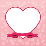 Romantic blank frame - 223533371