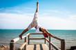 Quadro Yoga girl Spain Andalucia