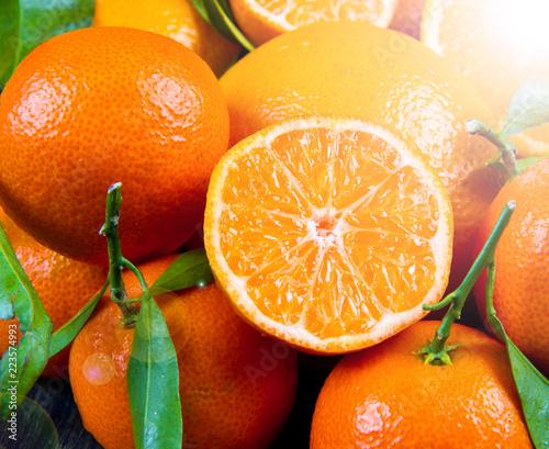 grupa świeżej pomarańczy