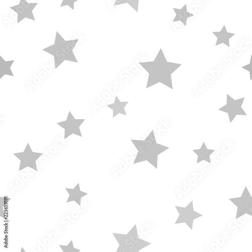 Szary wzór gwiazdy. Bezszwowe wektor