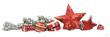 Leinwanddruck Bild - Weihnachtskarte Freisteller