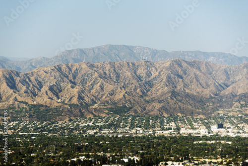 A view of cityscape of Los Angeles, California - 223699136