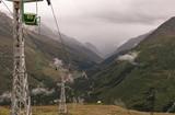 Канатная дорога с горы Чегет - 223731109