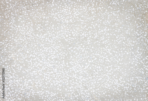 Texture White And Gray Terrazzo Floor Seamless Small Rock Patterns Background