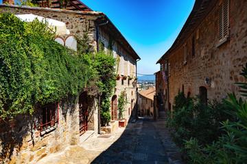 Ruelle de Castiglione della Pescaia, Liguria, Italy © AWP