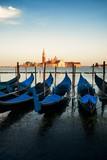 Gondola and San Giorgio Maggiore island