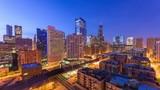 Chicago, Illinois, USA Skyline - 223800590
