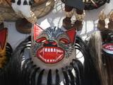 Mascara de artesanías de indígenas yaquis - 223802387