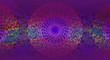 Abstract ethno dark violet background