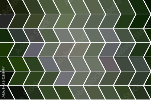 Abstract shape strip geometric pattern, colorful & artistic for graphic design, catalog, textile or texture printing & background. - 223836984