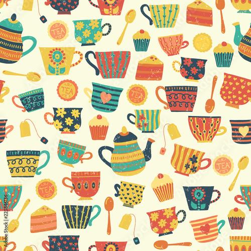 bezszwowy-retro-herbacianej-filizanki-wektoru-wzoru-tla-bez-distressed-vintage-wyglad-recznie-rysowane-herbaty-kubki-czajnik-lyzki-ciastko-do-papieru-opakowan-tkanin-menu-kawiarni-piekarni-tea-party-karty-zima
