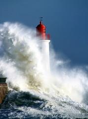 Tempête sur le phare © Pyros Photographie