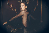 evening of elegant lady - 223924560