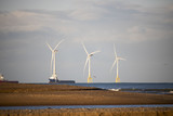 Aberdeenshire windfarm in the Evening - 223929124