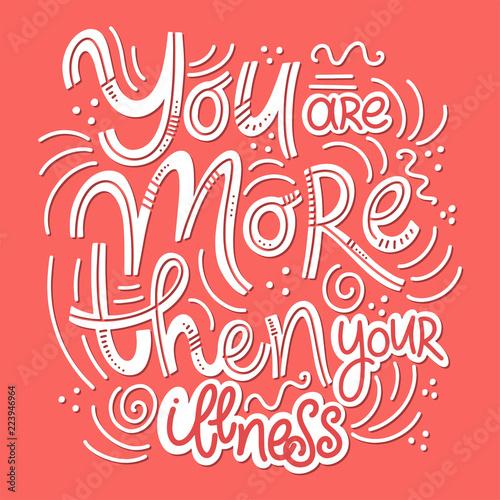 motywacyjne-i-inspirujace-cytaty-z-okazji-dnia-zdrowia-psychicznego-jestes-bardziej-niz-swoja-choroba-projekt-do-druku-plakat-zaproszenie-t-shirt-odznaki-ilustracji-wektorowych