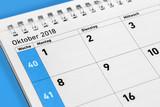 Kalender  -   Oktober  -  2018 - 223981343