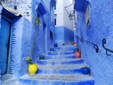 Detalle de las calles de Chaouen