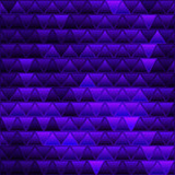 abstract vector stained-glass triangle mosaic background - 223998962