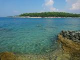 Krajobraz Istrii.  Widok pięknych europejskich miejsc odpoczynku w Chorwacja, Pula stare miasteczko. - 224009987