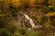 Bayehon canyon and waterfalls in the High Fens, Ardennes, Belgium during autumn - 224013151