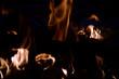 Leinwanddruck Bild - Feuer
