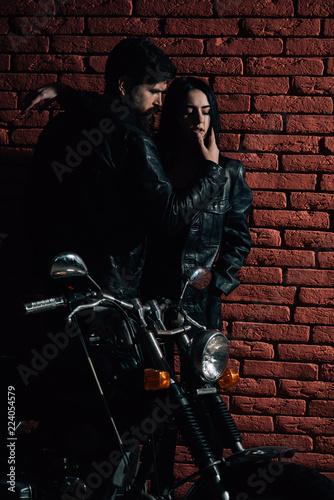 motorbike. sexy couple with motorbike. motorbike road trip. adventure traveling on motorbike. bike is my life.