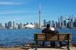 Skyline Toronto Island