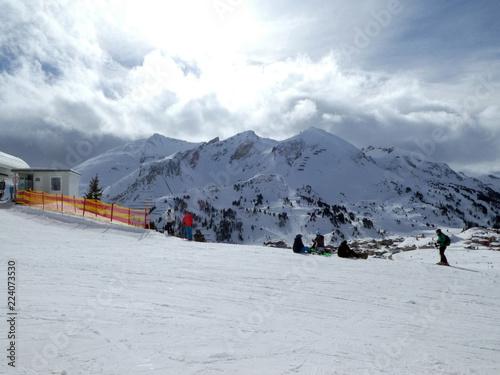 Blick von der Bergstation Edelweissbahn auf Obertauern - 224073530