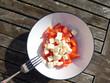 Tomaten Schafskäse Salat - 224077148